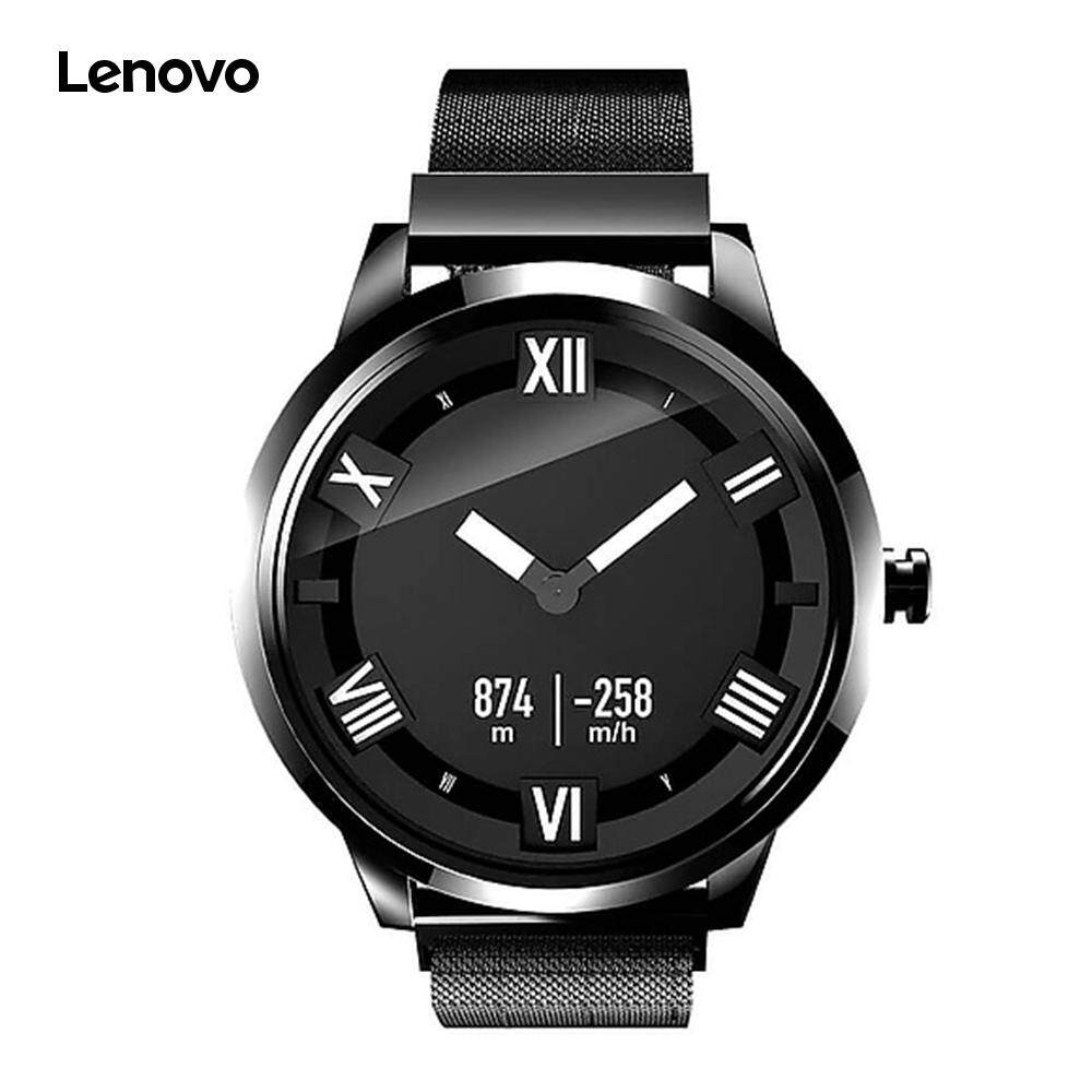 Le.novo Watch X Plus Milanese Import Movt OLED Ultra-long Standby Wristwatch