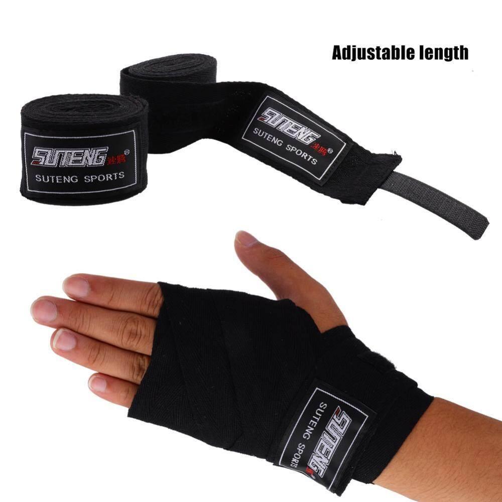 25c6eade27 4 Colors Adults 1 Pair Elastic Handwraps Hand Wrap for Boxing Kickboxing  Muay Thai - intl