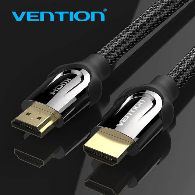 Vention สาย HDMI สาย HDMI ไปยัง HDMI HDMI 2.0 4 พัน 3D 60FPS สำหรับทีวีแอลซีดีแล็ปท็อป PS3 projector สายเคเบิ้ลคอมพิวเตอร์ 1 เมตร 2 เมตร 3 เมตร 5 เมตร 8 เมตร 10 เมตร 0.75 เมตร