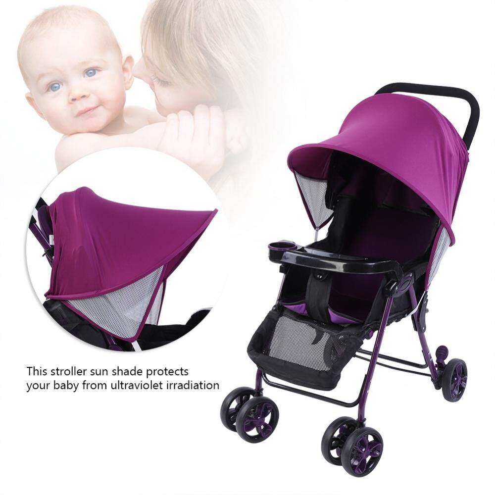Baby Child Stroller Pushchair Sun Shade Summer Uv Protection Buggy Canopy Cover By Globedealwin.