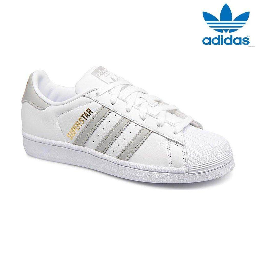 21d09d7ac65e1f Adidas New Originals Superstar B42002 White Grey Shoes