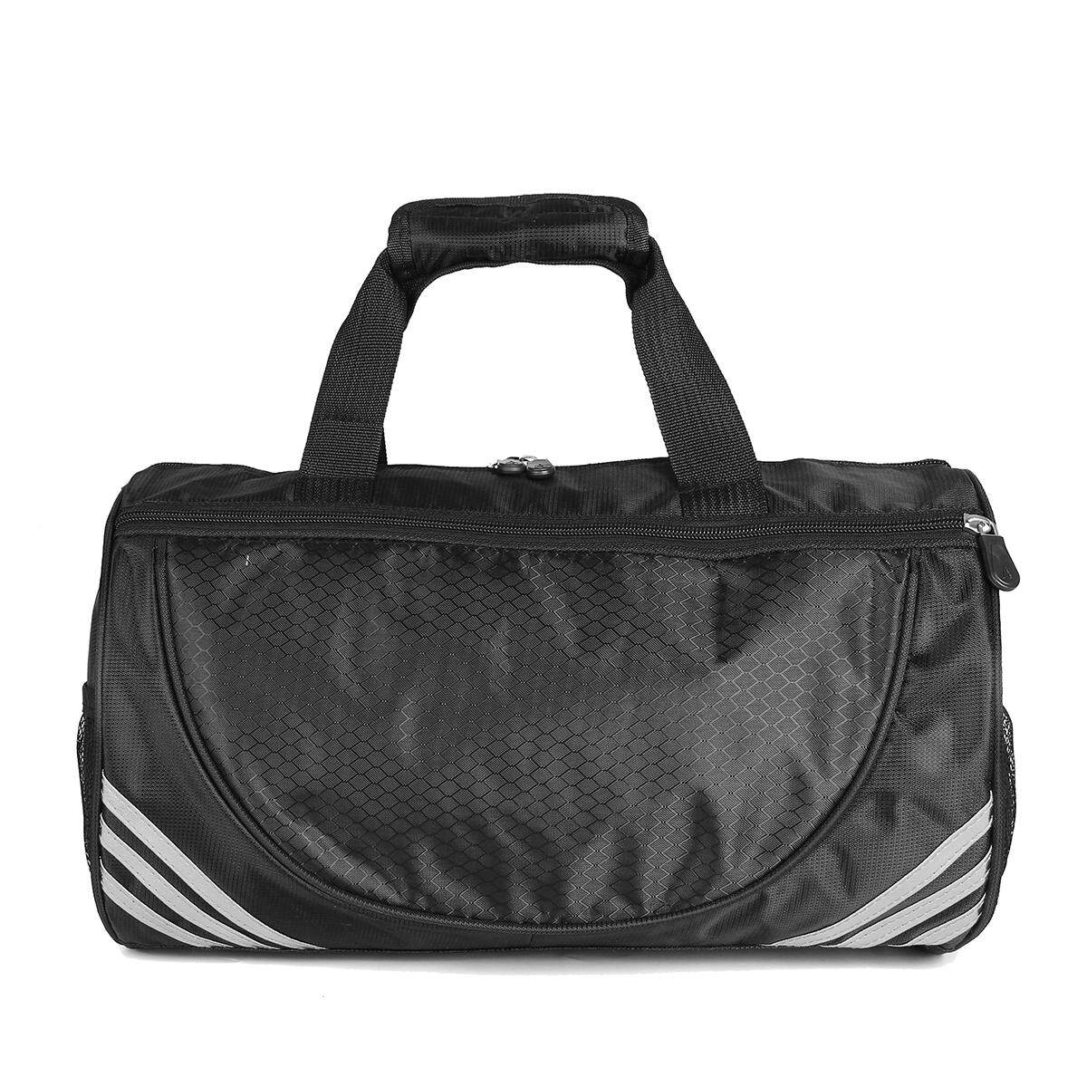 Sports Gym Travel Bags Yoga Bag Travel Duffle Bag Satchel Training Bags Backpack Silver 40x20x20cm - Intl By Channy.