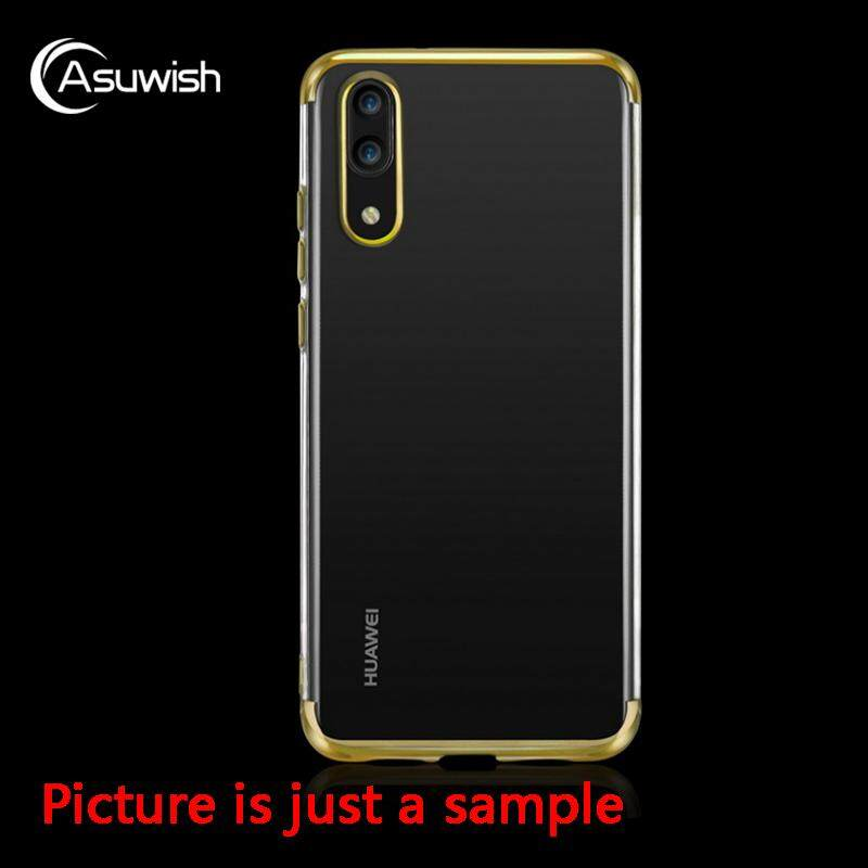Asuwish Transparent Clear Armor Case for Huawei P20 Phone Case Slim .