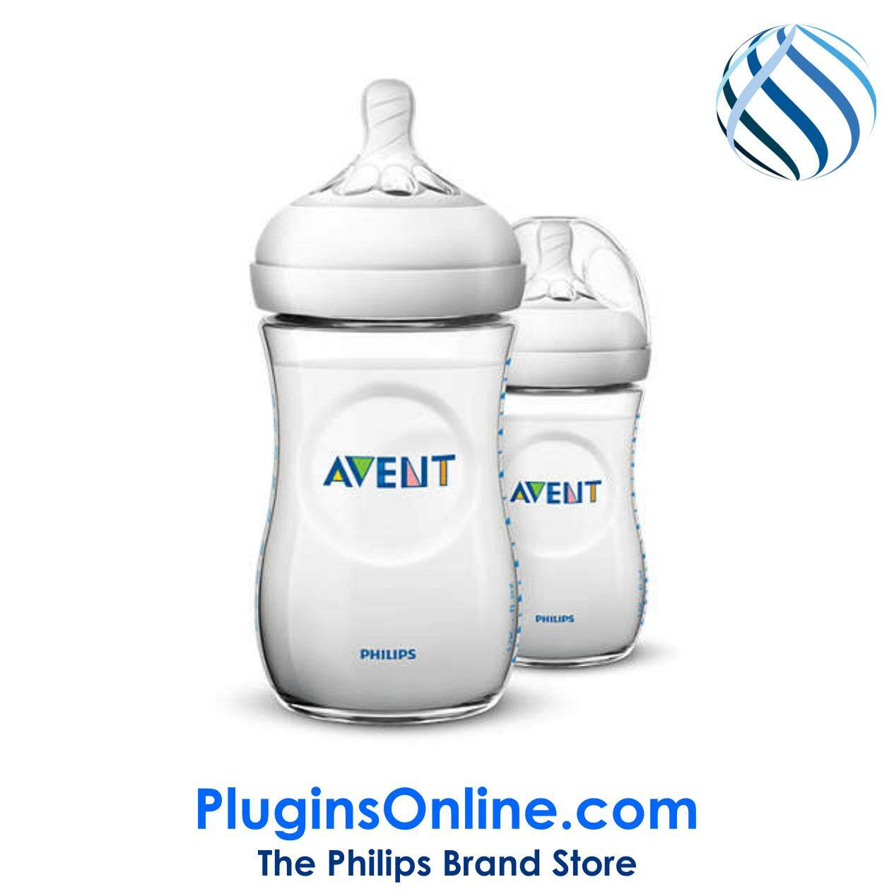 Philips Avent SCF693/23 Natural  Classic+ 260ml (Twin Pack) - Natural  2.0 (Extra Soft Teat)