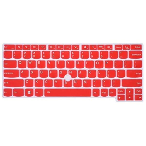 Keyboard Skins Keyboard Skin Protector for Lenovo Yoga 260, Yoga 370, ThinkPad X230S X240 X 240S X250 X 260 X270 X 280, Thinkpad X380 Yoga Laptop, Red - intl