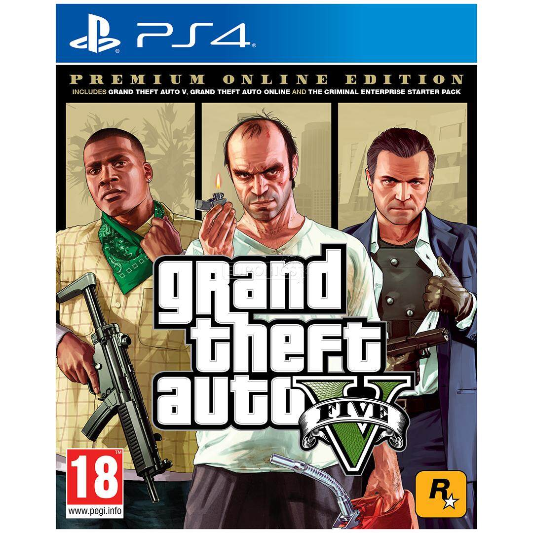 Fitur Ps4 Grand Theft Auto V Premium Edition R3 Eng Dan Harga Sony Playstation Injustice 2