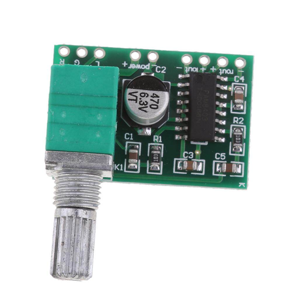 Cheer Ultra Small Pam8403 Usb 5v Digital Amplifier Board Audiostereo Sj2038 Mini Hifi 2 X 5w Audio W Led Indicator Blue Miracle Shining With Switch Potentiometer Power