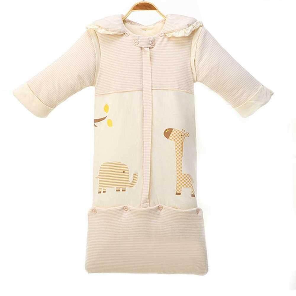 Hình ảnh lagobuy 85cm Newborn Infant Winter Cotton Thicken Sleeping Bag Baby Bedding Accessories - intl