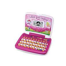 Winfun Gadis Kecil Anak Interaktif Belajar Konsep Sederhana LCD Laptop... (Gadis Kecil