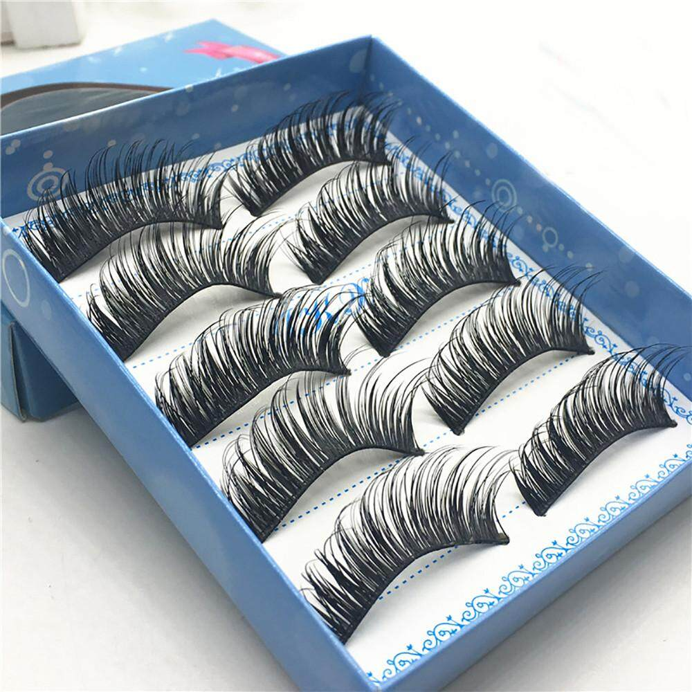 Lion  1 Box  Luxury 3D False Lashes Fluffy Strip  False Eyelashes Long Naturally Party Philippines