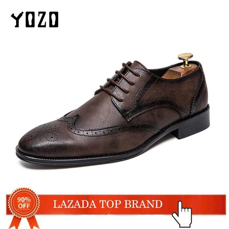 Buy Men Dress Shoes Formal Casual Lazada