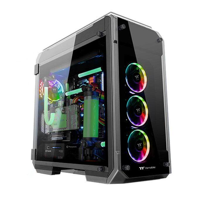 Thermaltake View 71 Mid Tower RGB ATX Case White Malaysia