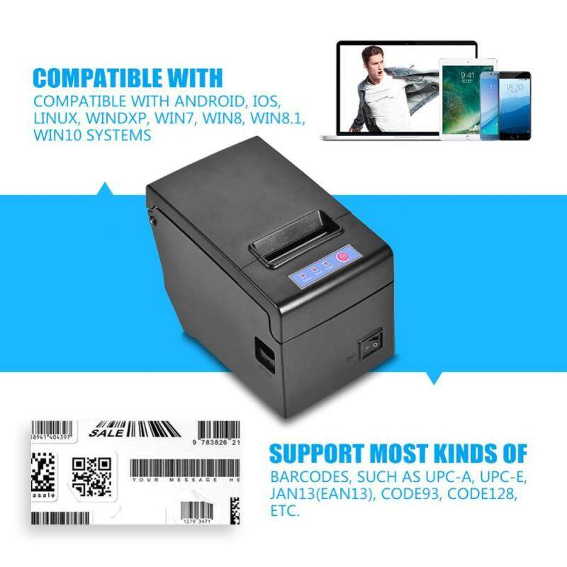 [Clearance Promotion]58MM USB Wired Thermal Cash Receipt Printer Printing for iOS Android Windows Linux (EU Plug) - intl