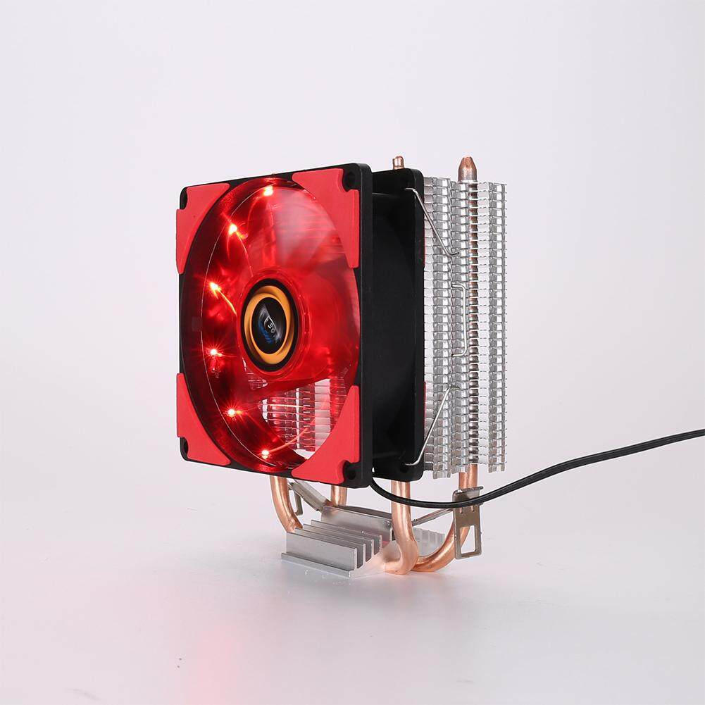 9cm CPU Cooler Pure Copper Double Heat Pipe CPU Radiator Brass Tower CPU Fan Cooling System
