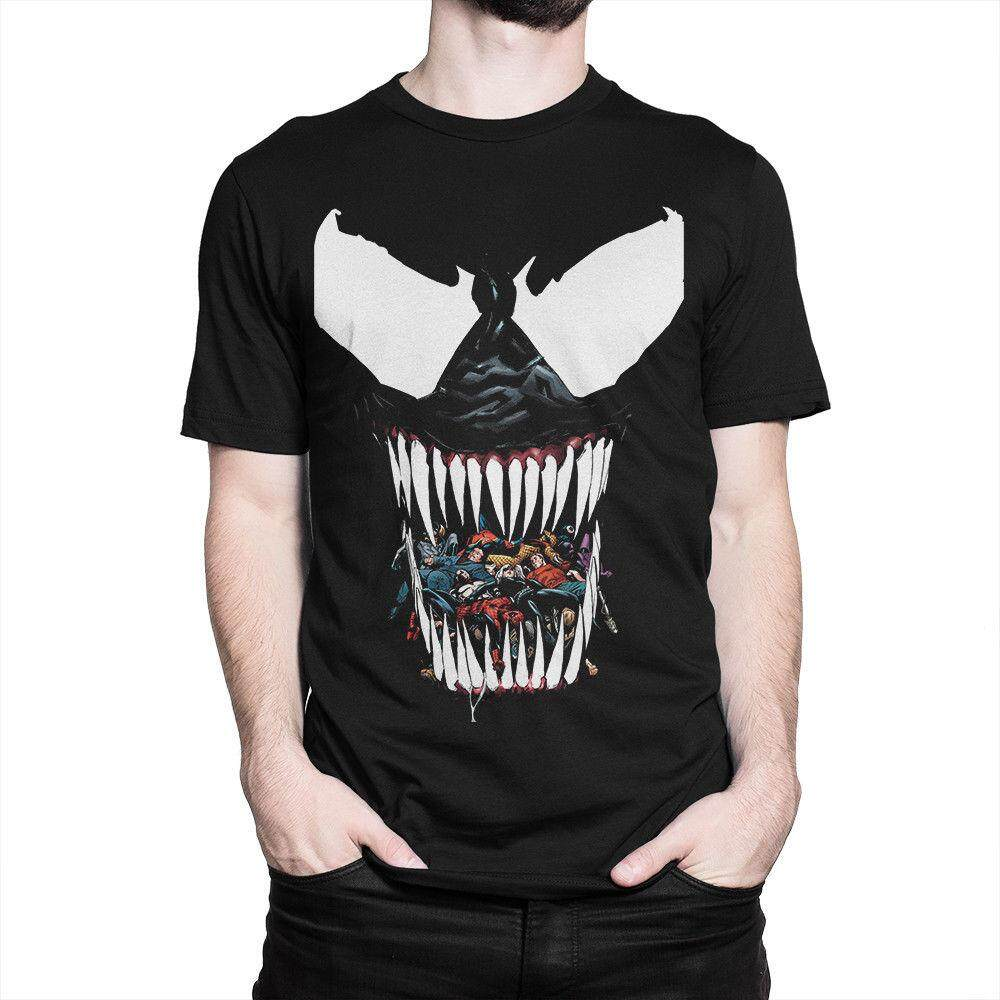 4dfc2a7fe08 Venom Face Comics Art - Movie Tshirt Or Loser   Lover - It Pennywise Tee Or
