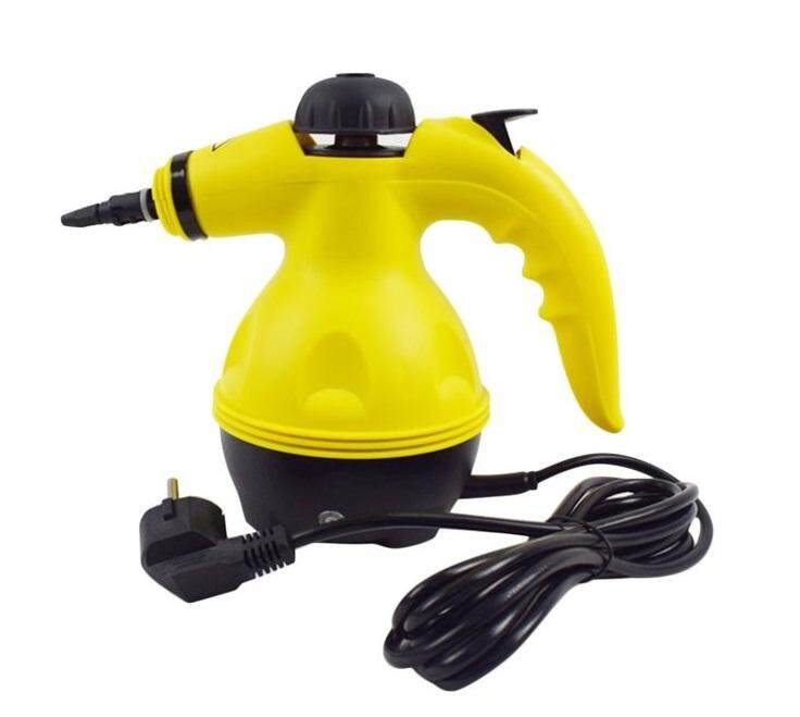 STEAMER CLEANER PORTABLE HANDHELD STEAMER HOUSEHOLD CLEANER TOOL YELLOW & BLACK EU PLUG