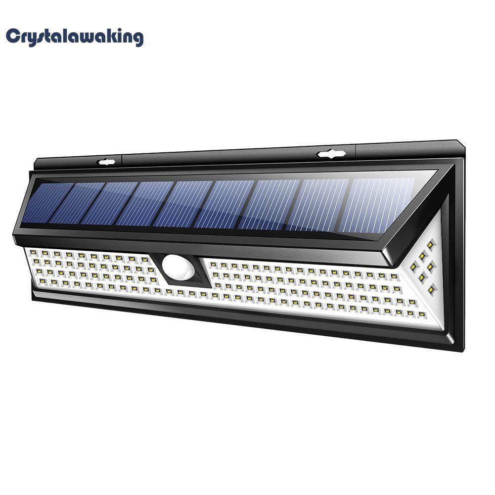 Buy Solar Powered Lights Lighting Light Switch With Pir Sensor Led Security Motion 118led Lamp Outdoor Garden Yard Waterproof