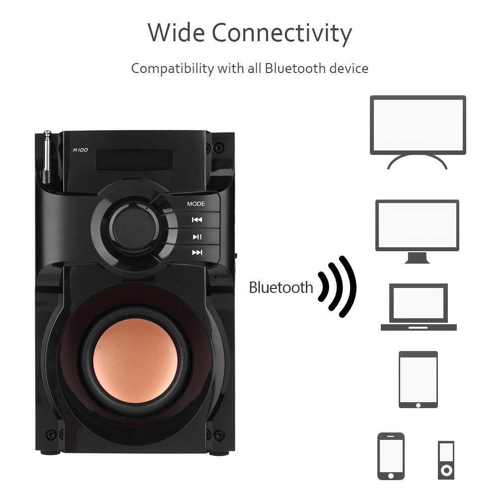 Bass Bluetooth Speaker 2.1 Stereo Subwoofer Music HiFi Speaker Sound Box - 5 .