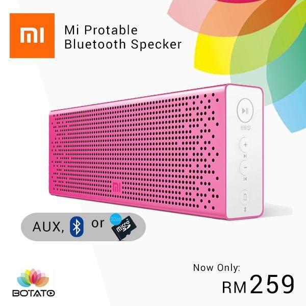 [[Xiaomi Bluetooth Speaker]] Enhanced Music Player Portable Speaker HIFI Stereo Loudspeaker [[Botato Electronic]]