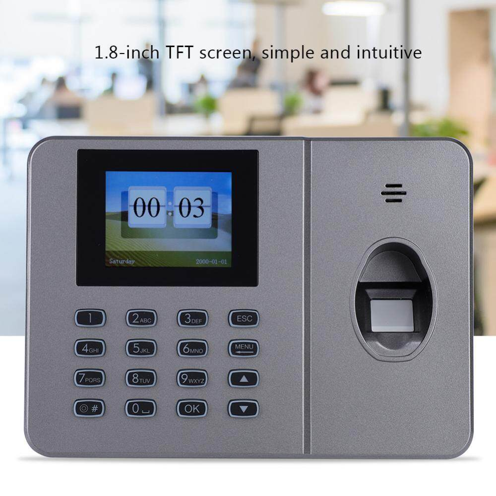 1.8-inch TFT screen C27 Office Fingerprint Attendance Machine Biometric Fingerprint Time Attendance (UK 110-240V)