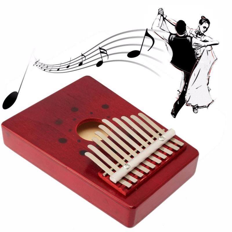 10 phím Thông Ngón Tay Cái Ngón Tay Nhạc Piano Kalimba Mbira Likembe Dụng Cụ Âm Nhạc