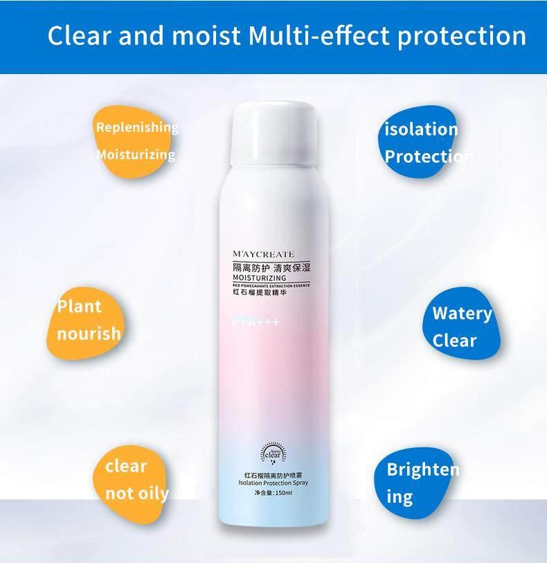 READY STOCK Whitening sunscreen spray unisex uv protection moisturizing  Isolation sunscreen