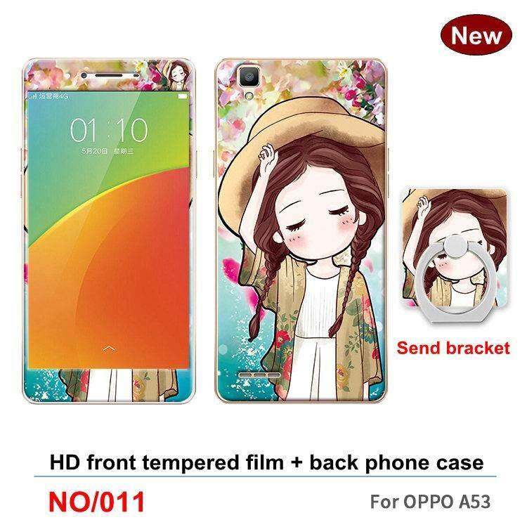 A53 Mode Terkini 360 Gelar Penuh Casing TPU Lunak Plastik Bungkus Telefon Casing Tahan Guncangan untuk