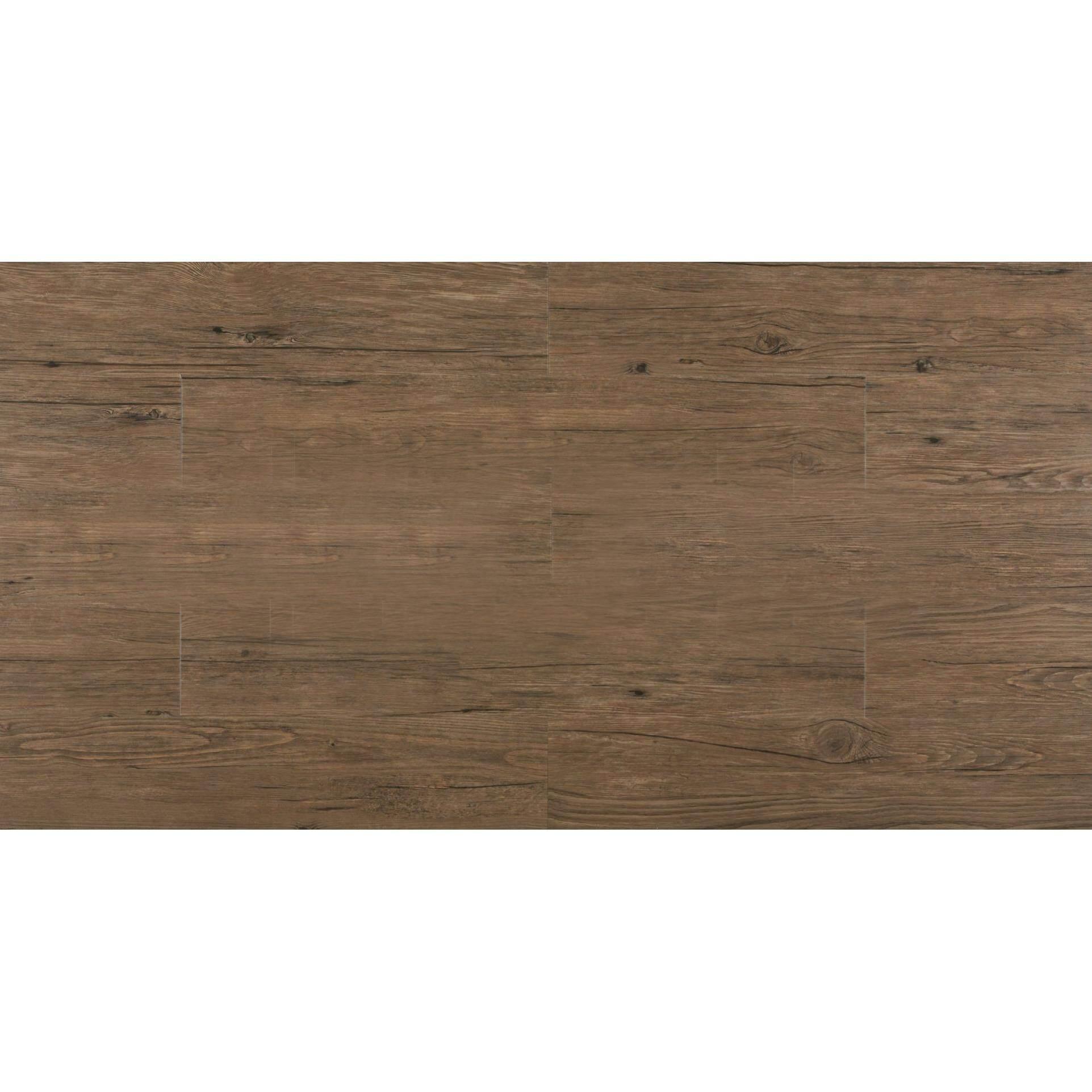 Premium Teraflor Vinyl Tiles Floor 2mm (Box of 20pcs) - Wood - Weather Pine
