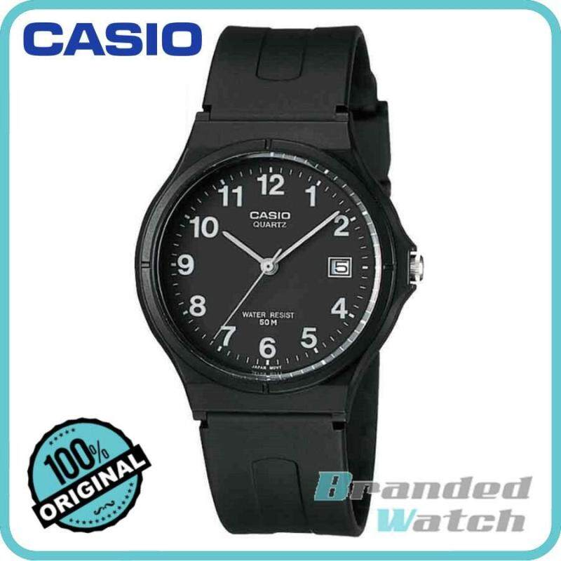 Casio MW-59-1BVDF Unisex Quartz Analog Date Display Resin Watch MW-59-1B Malaysia