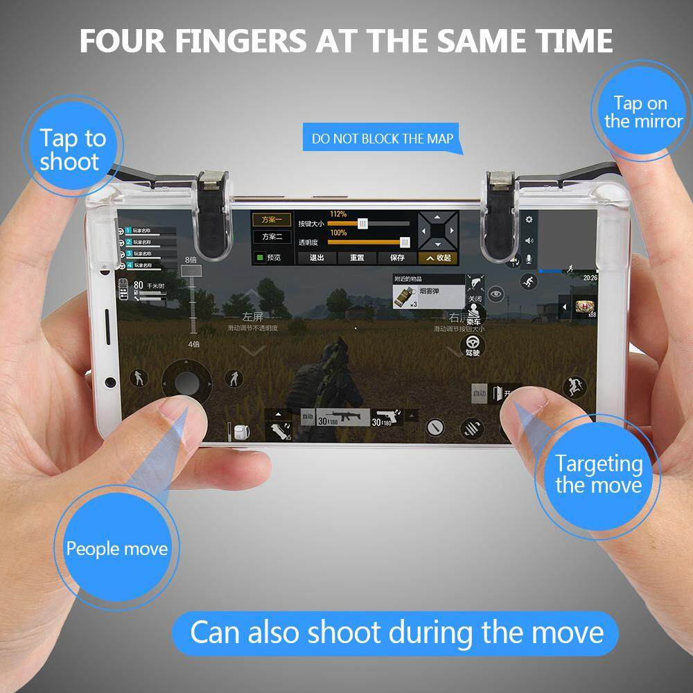 """Review of """"niceEshop Mobile Game Controller (New Version) For PUBG/Rules Of"""
