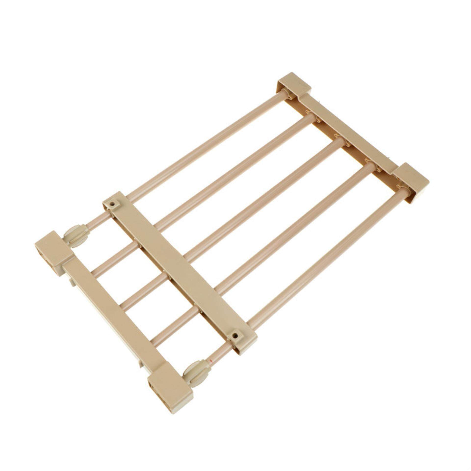 Storage Holder Rack Nail-Free Scalable Partition Shelves For Wardrobe Separator - intl