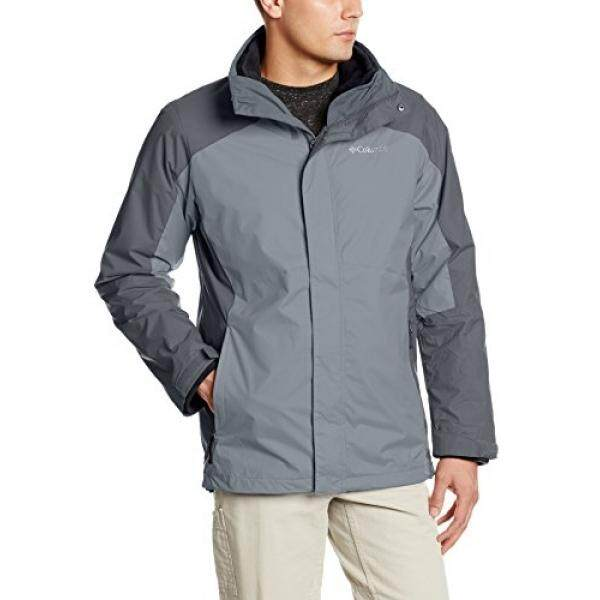 Columbia Mens Big & Tall Eager Air Interchange 3-in-1 Jacket, Graphite, 4X - intl