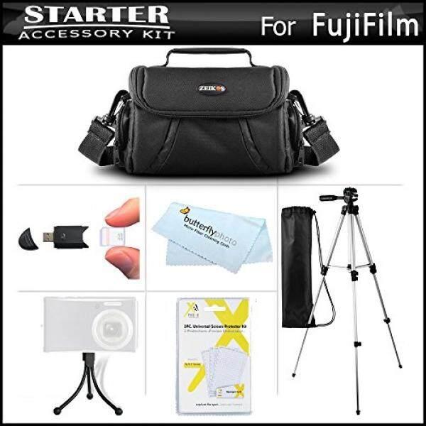 Accessories Kit For Fuji Fujifilm FinePix HS30EXR, Fujifilm X-E1 SL300 S8200 S8300 S8400 S8500 S6800 S4700 S4800, SL1000 HS50EXR, X100S, X20, X-M1, X-E2, S8600, S9200, S9400W, S9800, S9900W, S1, X-T10