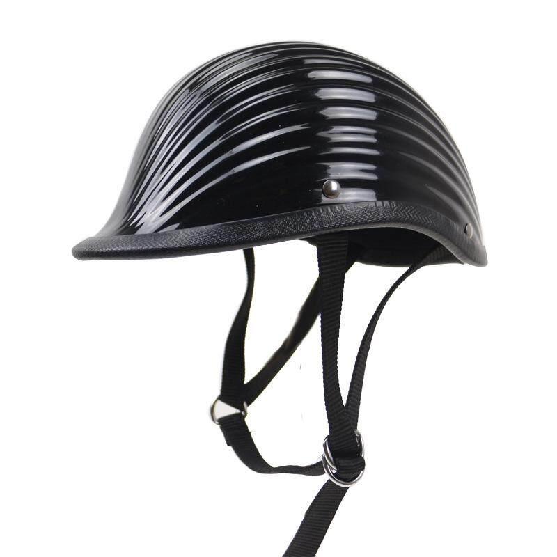Jepang Mengimpor Ttco Helm Motor Harley Outdoor Yang Berkuda Setengah Helm Helix Helm Helm Retro Helix