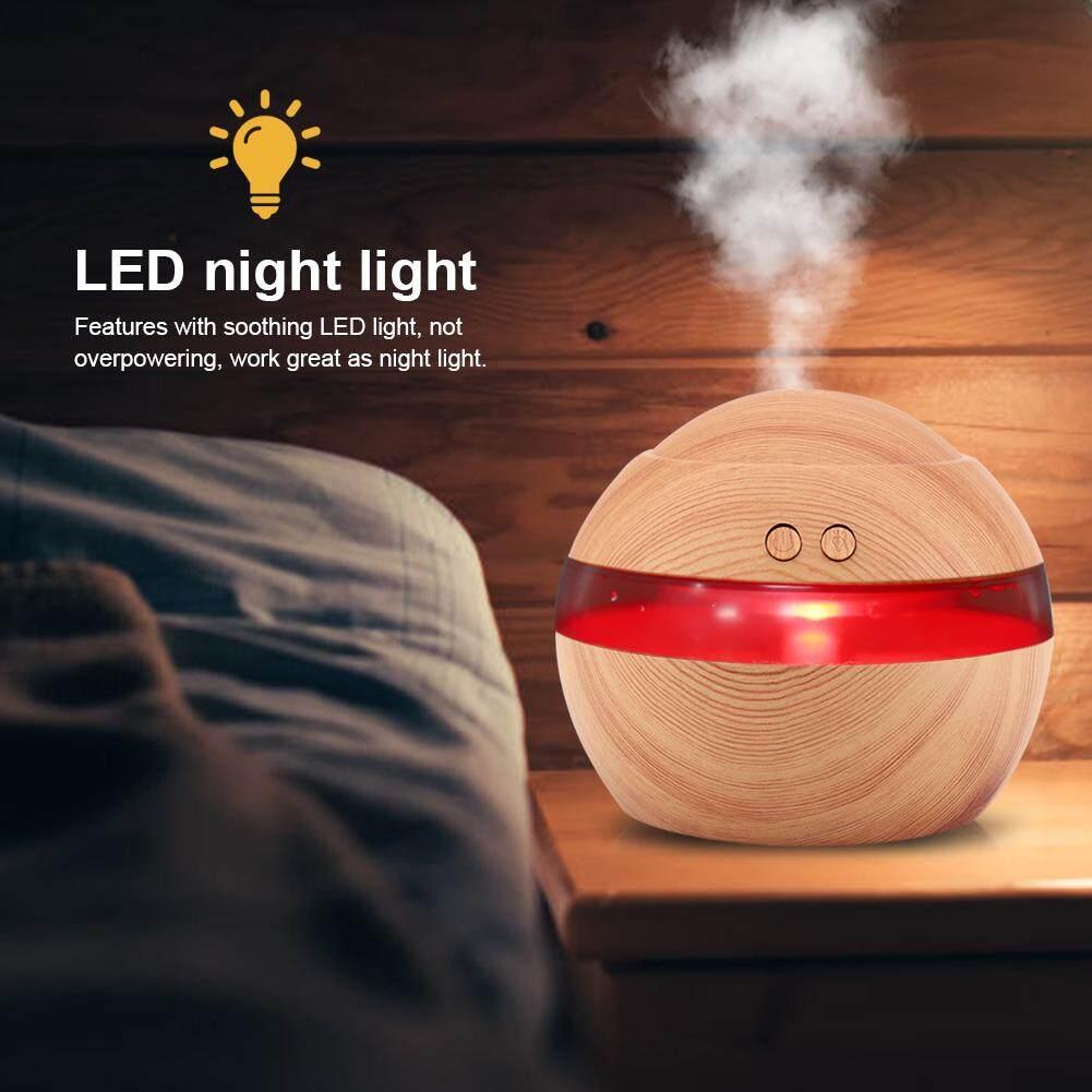 Bảng giá 300 ml USB Siêu Khá Xông Phòng Máy Phun Sương Tạo Độ Ẩm Tinh Dầu Hương Thơm Khuếch Tán Nightlight Điện máy Pico