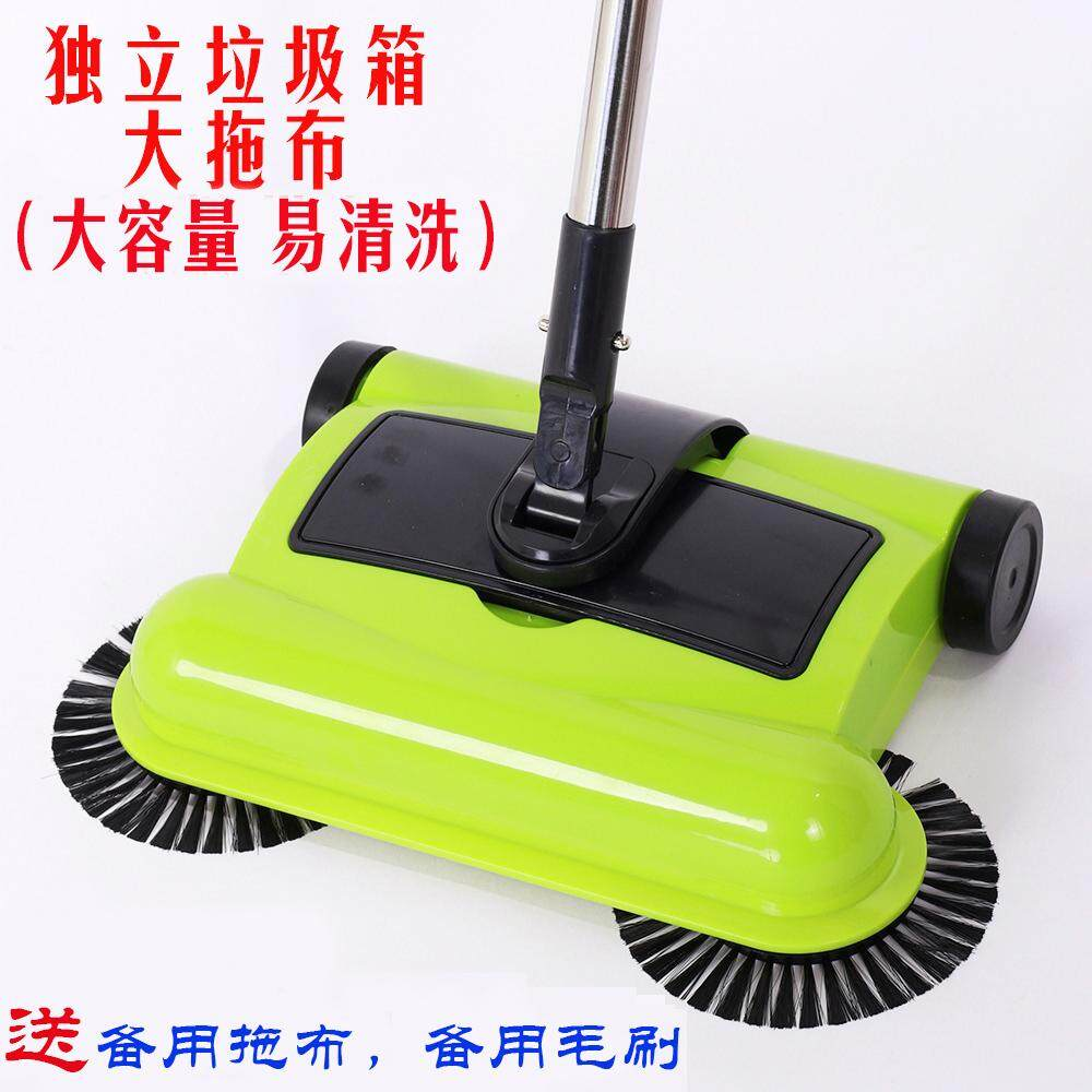 Retail Price Sweeper Hand Push Type Vacuum Cleaner Household Soft Broom And Dustpan Set Combination Magic Broom Magic Broom Artifact Intl