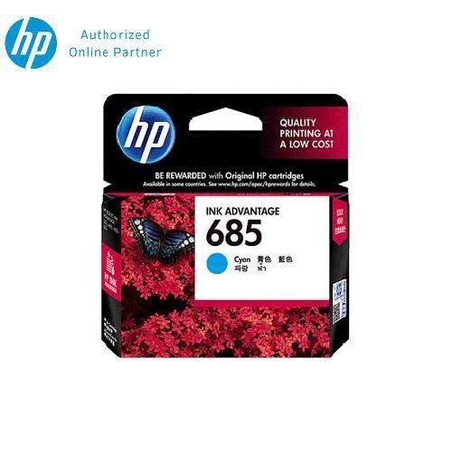 HP 685 Cyan Original Ink Advantage Cartridge CZ122AA
