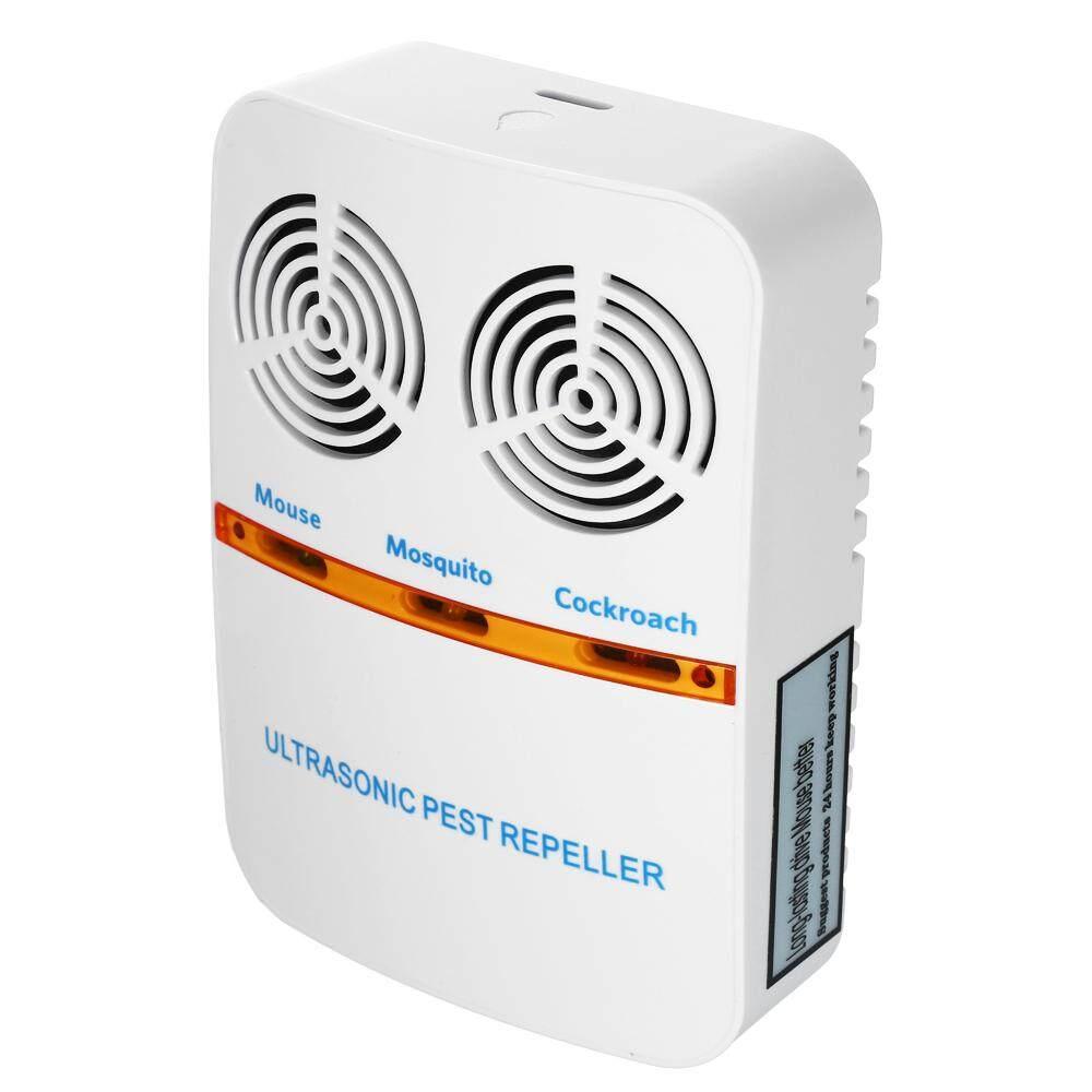 Double-Horn Ultrasonik Elektromagnetik Mouse Serangga Kontrol Repeller Plug-In Listrik Hama Serangga Nyamuk