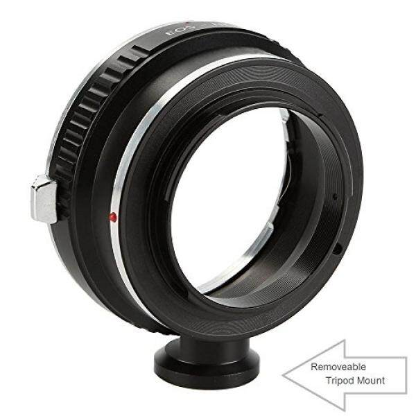 Adapter To Convert Canon EOS, EF, EF-S Lens To E-mount / NEX For Alpha Sony a7, a7S, a7IIK, a7II, a7R II, a6500, a6300, a6000, a5000, a5100, a3000 Mirrorless Digital Camera - with Tripod Mount