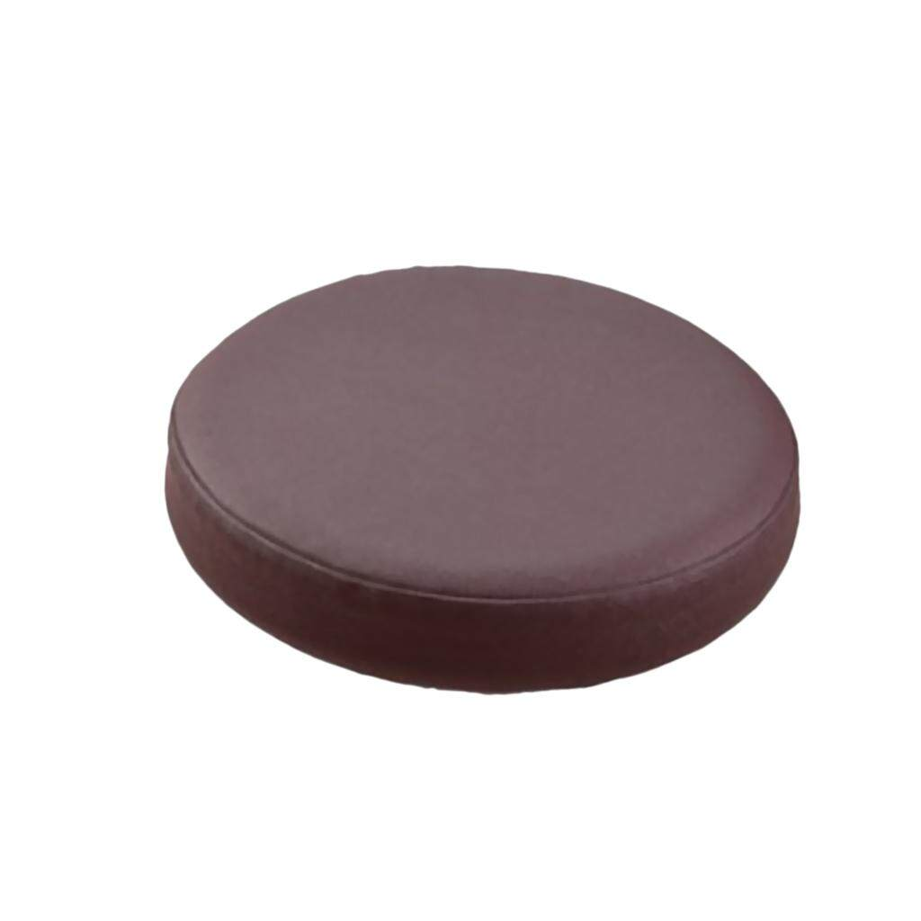 BolehDeals Elastic Bar Stool Covers Round Chair Seat Cover Cushion Slipcover Coffee - intl