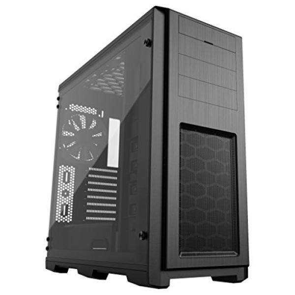 [From.USA]Phanteks Enthoo Pro TG Full ATX Chassis Integrated RGB lighting Tempered Glass Side Panel Black (PH-ES614PTG_BK) B078K32G27 Malaysia