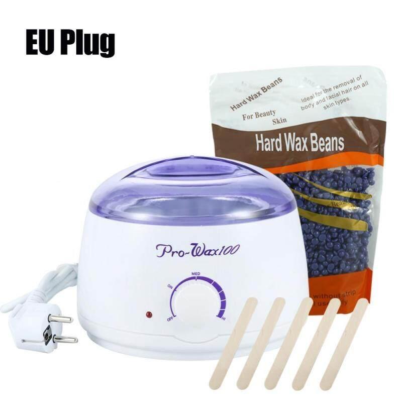 Hair Removal 100-240V Hot Paraffin Wax Pot Warmer Heater Salon Spa Depilatory EU Plug - intl