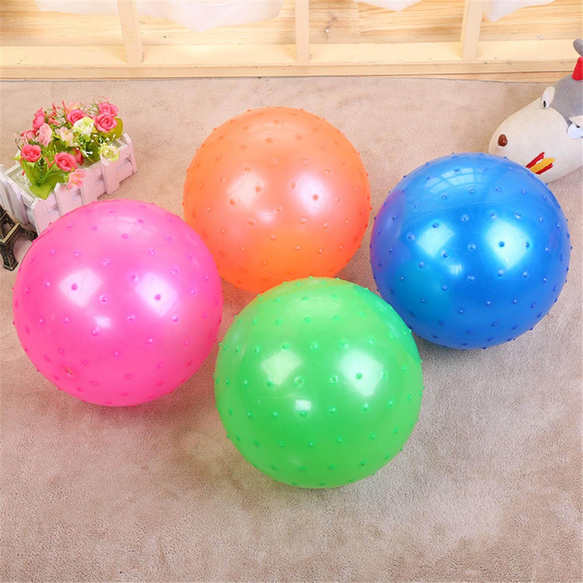 Hình ảnh 22cm Inflatable Massage Jumping Ball for Kids Gift Toy PVC Bouncing Balance Ball
