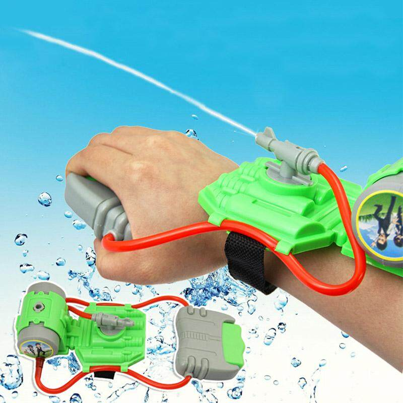 Hình ảnh 5M Range Wrist Water Blaster Plastic Children Kids Outdoor Sprinkling Toy for Swimming Pool Beach - intl