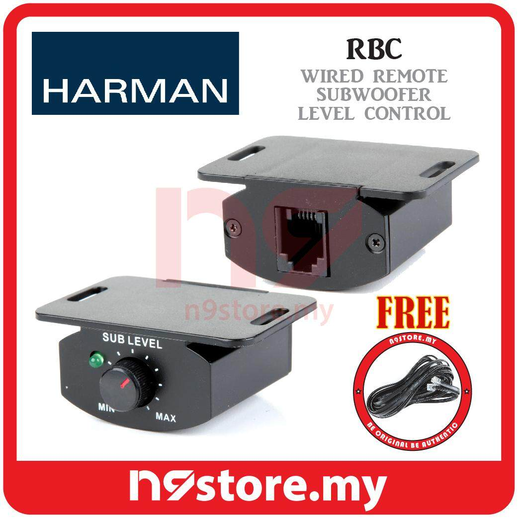 Harman RBC Wired Remote Subwoofer Level Control for Infinity and JBL
