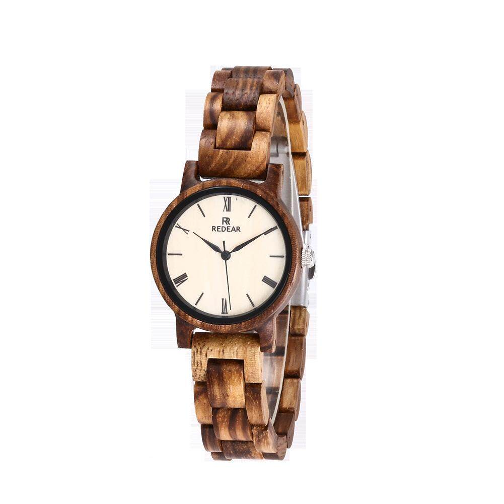 Buy Sell Cheapest Kuning Kacamata Zebra Best Quality Product Deals Gelang Unik Stylish Women Wood Quartz Watch Elegant Wristwatch Ornament Gift