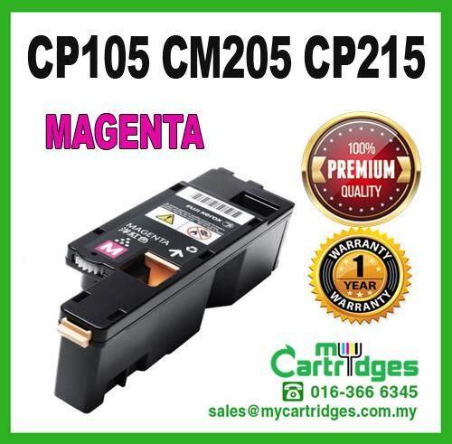 Fuji Xerox CP105 / CP205 / CP215 / CM205 / CM215 / CT201593 Magenta High Quality Compatible Laser Toner For Docuprint CM205b CM205f CM205fw CM215b CM215fw CP105b CP205 CP205w CP215w Printer