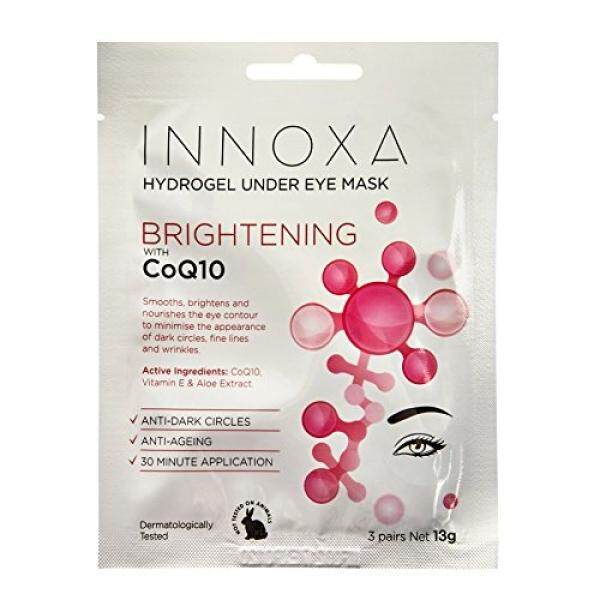 Innoxa Brightening Eye Mask Sheet Anti-Ageing Hydrating Collagen Skin Care Beauty Face / From USA