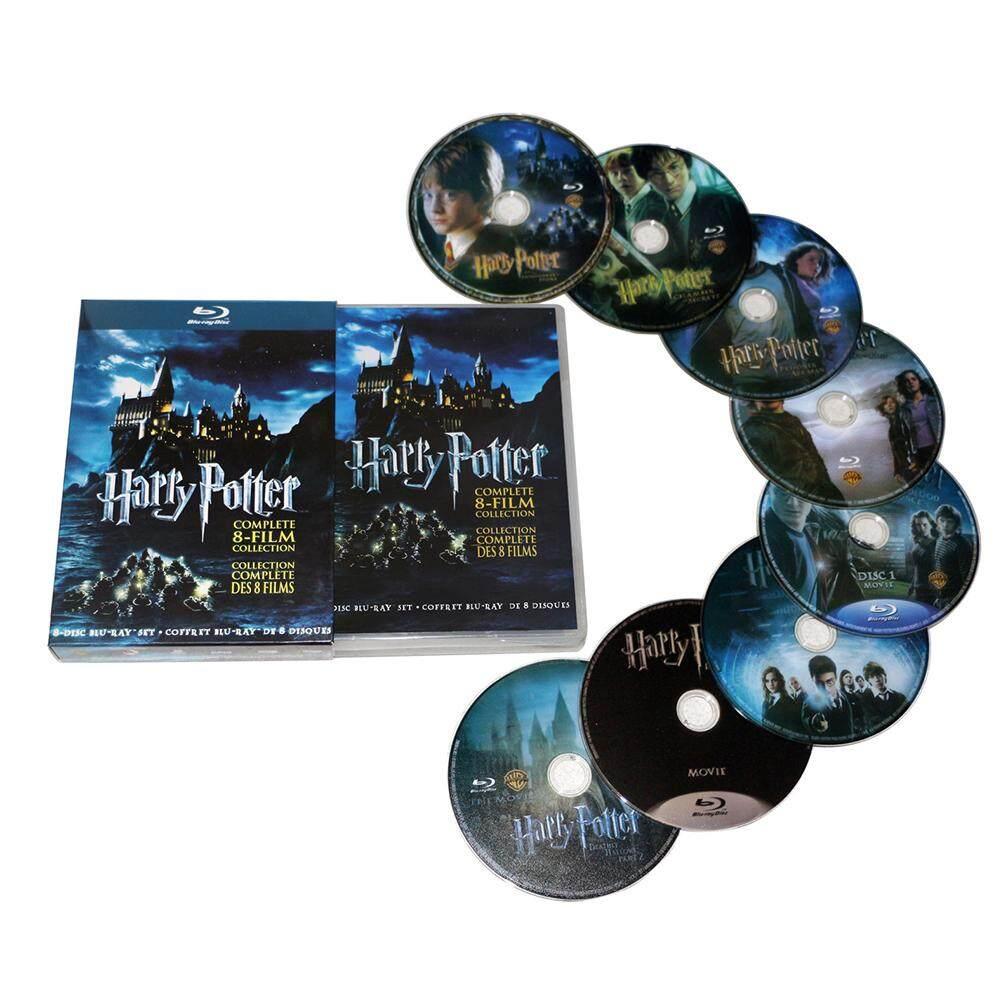 HxM Harry Potter 1-8 Film DVD Film Box Set Lengkap 1-8 Film Koleksi (DVD, 2011, 8-Disc Set Kotak) | Kaskus