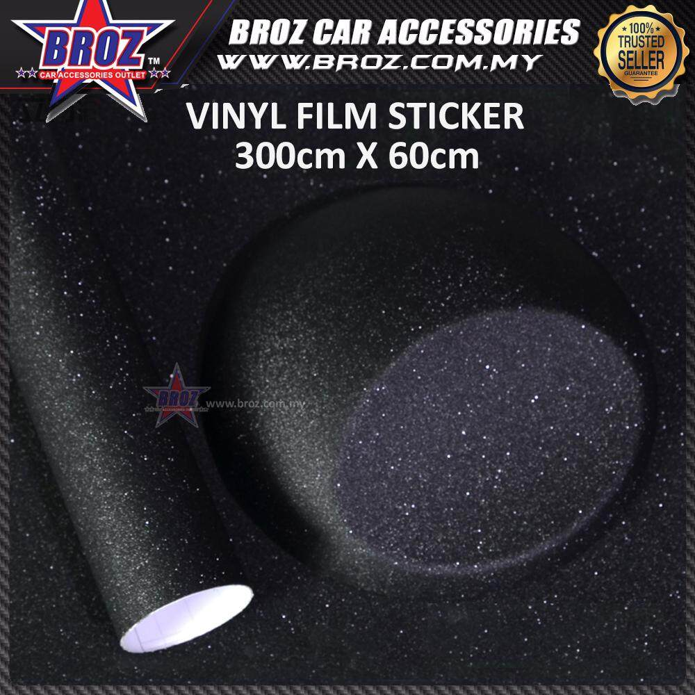 Broz 300cmX60cm Sandpaper Black Sticker Tape Film Sand Paper Tape Car Sticker Wrap